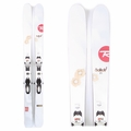 Used Rossignol Saffron 7 2014 Women Skis with Bindings