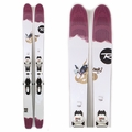 Used Rossignol Star 7 2014 Women Skis with Bindings
