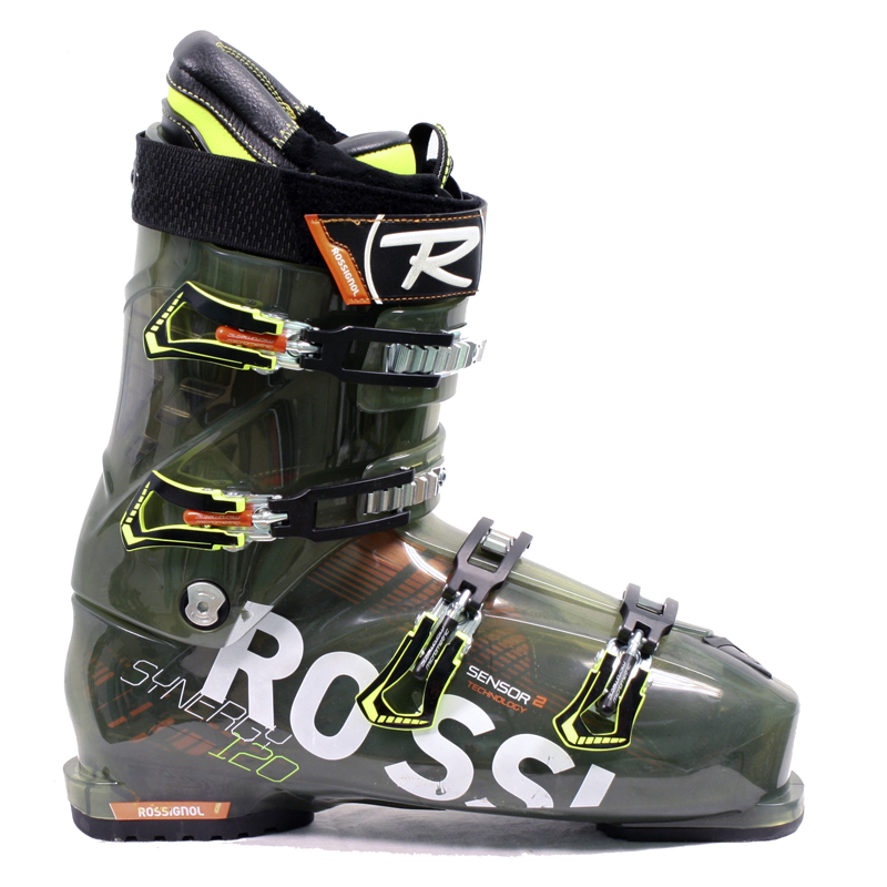 Used Rossignol Synergy Sensor2 120 Ski Boots