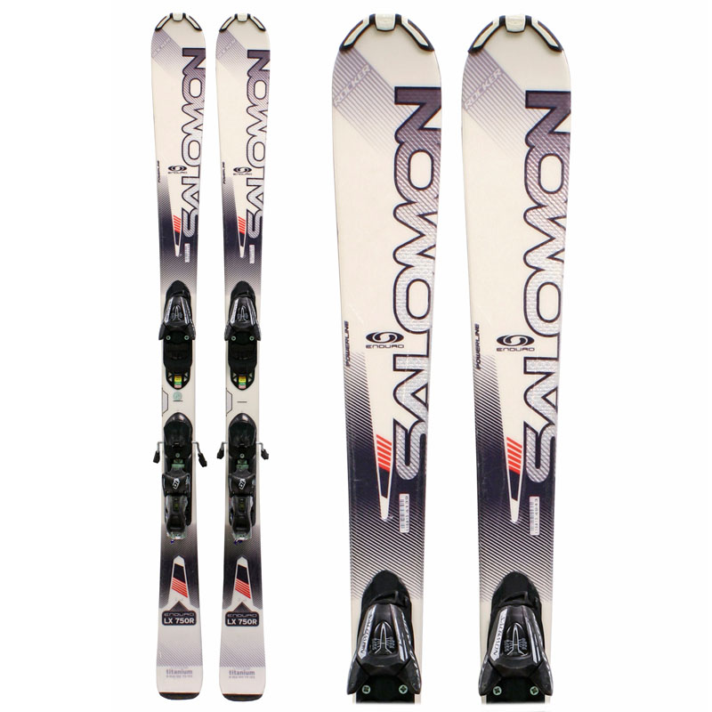 Used Salomon Enduro LX 750R Skis with Bindings