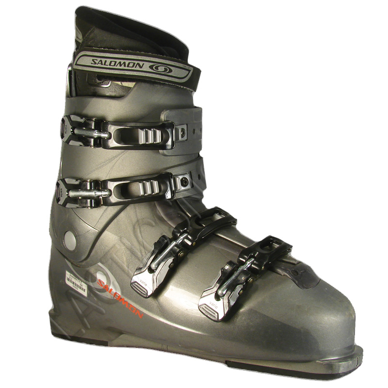 Used Salomon Performa 660 Ski Boots Grey