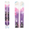Used Salomon Q-103 Stella 2015 Women Skis with Bindings