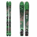 Used Salomon Q-90 2016 Men Skis with Bindings