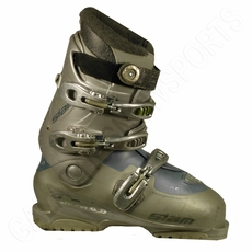 Used Salomon  Siam White Light Blue Ski Boots