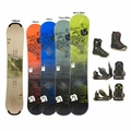 Used Burton Snowboard with Boots and Bindings Package Complete