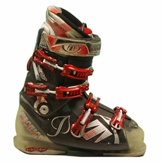 Used Tecnica Vento 80 Ski Boots Black Red