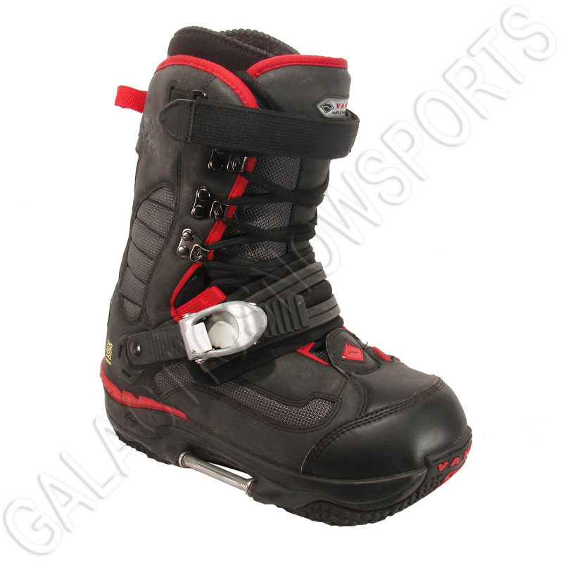 Used Vans Switch Snowboard Boots Black Red