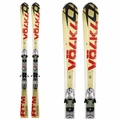 Used Volkl RTM 7.4 Skis with Bindings