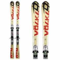 Used Volkl RTM 7.4 Skis with Bindings Bargain Bin