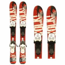 Used Volkl Unlimited AC Junior Skis with Bindings