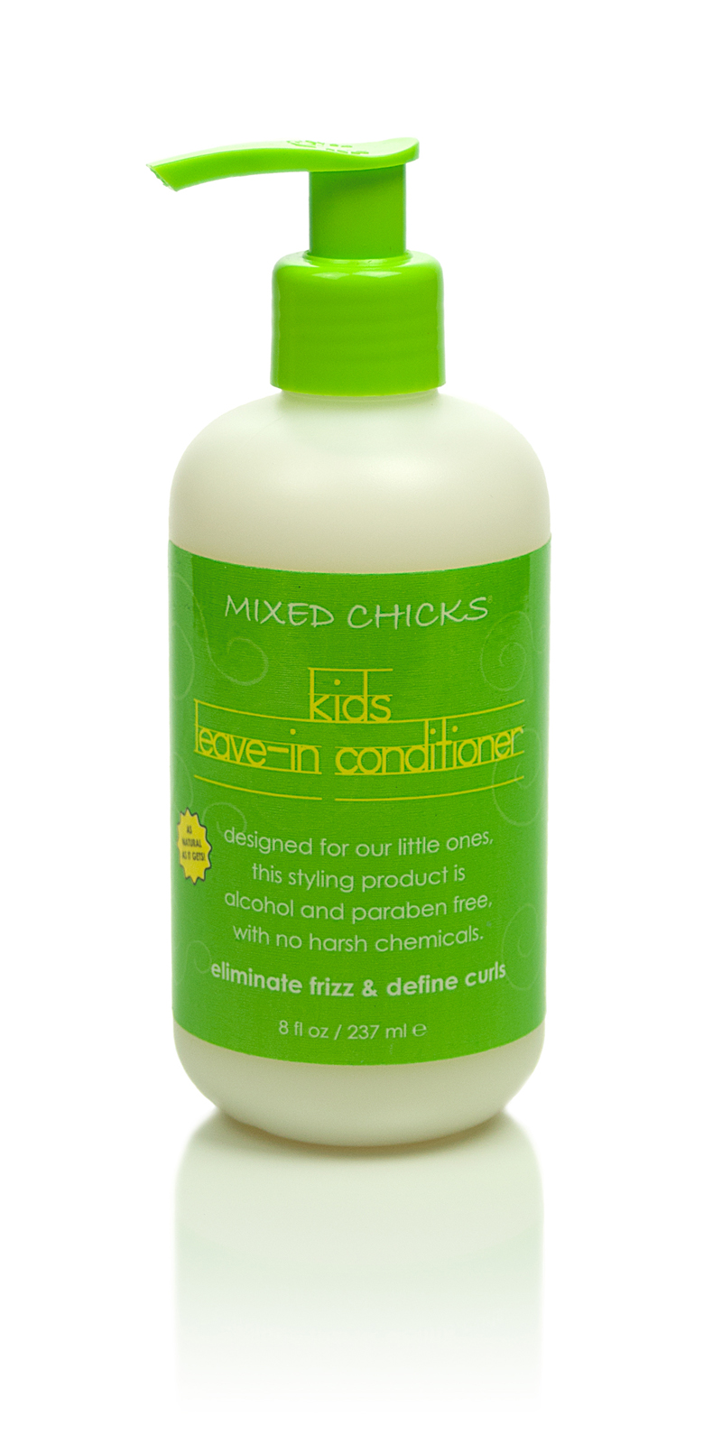 Curly and wavy hair conditioner for kids - Mixed Chicks ...