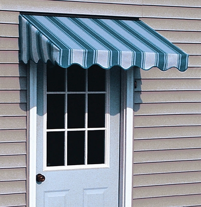Elite Fabric Door Awnings - Click to enlarge