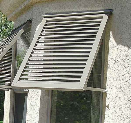 Euro Awning Shutters - Click to enlarge