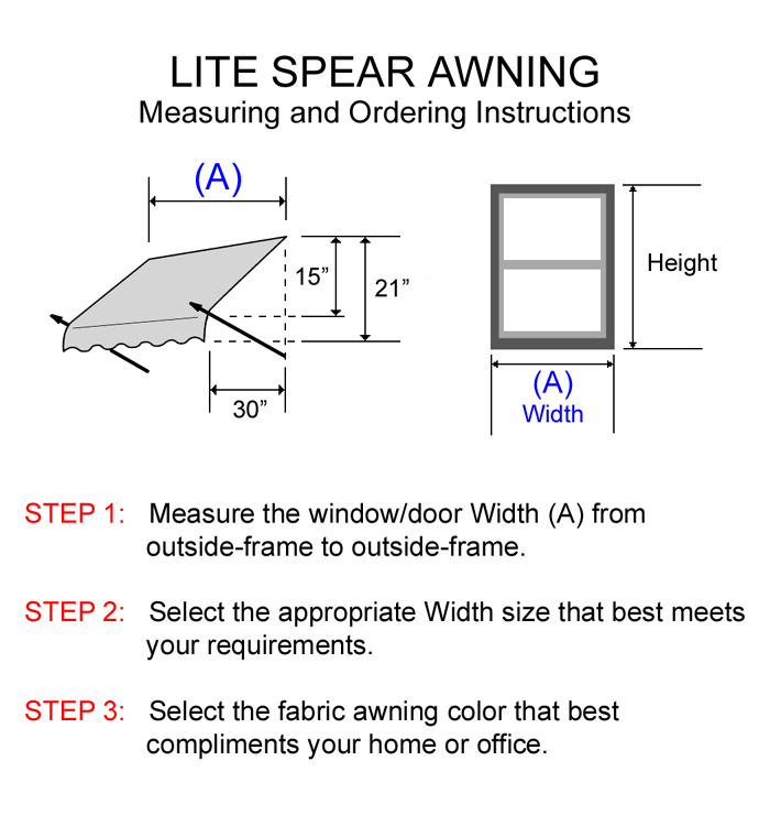 lite-spear-awnings-19.jpg (700×750) (With images) | Fabric ...