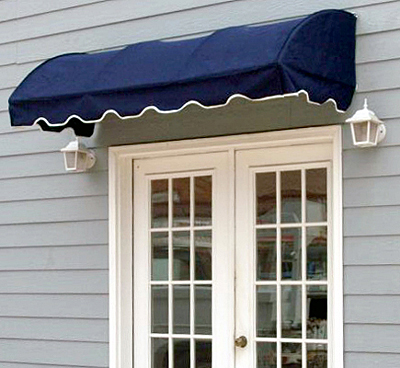 Waterfall Convex Awnings - Click to enlarge