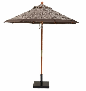7.5 ft. Wooden Market With Pulley and No Tilt