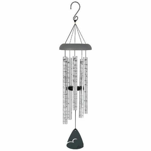 Memorial Wind Chimes 23rd Psalm - Engravable
