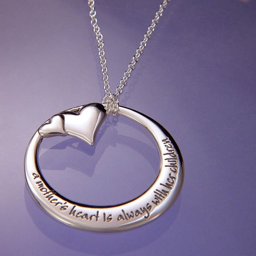 A mothers heart memory necklace aloadofball Gallery