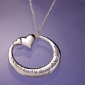 A Mother�s Heart � Memory Necklace