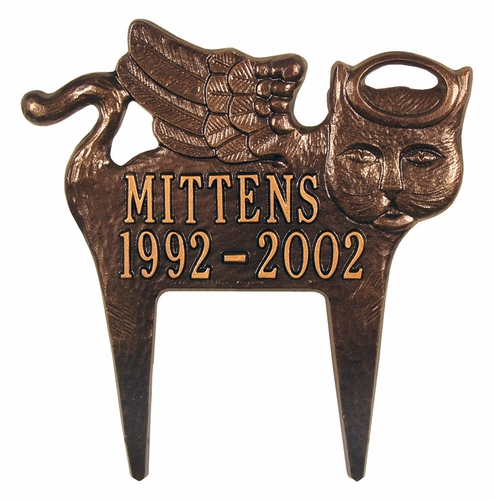 Angel Cat Memorial - Personalized