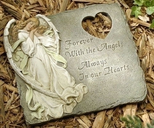 Angel Memorial Stone - Forever with the Angels