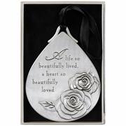 Beautifully Loved - Memorial Ornament
