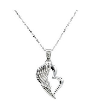 Broken Wing Memorial Necklace