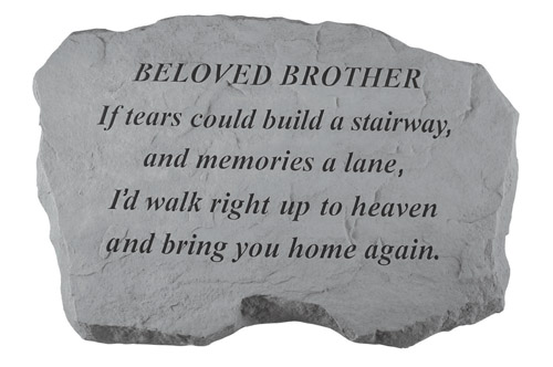 Brother Memory Stone - If Tears Could Build
