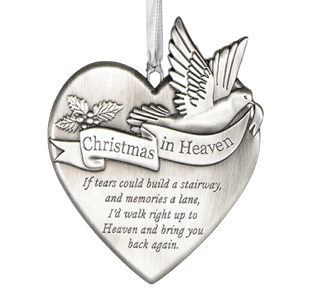 Christmas In Heaven.Christmas In Heaven Memorial Ornament