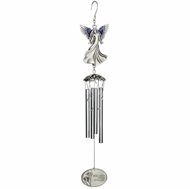 Engraveable Whispers from Heaven Memorial Chimes