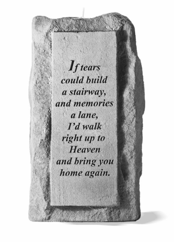 If Tears Could Build - Memorial Candle Holder