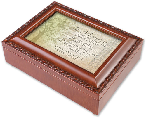 In Memory Music Box - Those We Love Are Always With Us