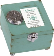 Locket Memory Box - Memories - Engraving Option