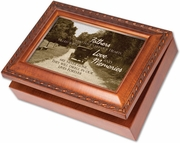Loss of Father Memorial Music Box - Engravable