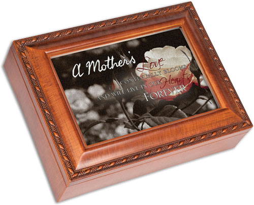 Keepsake Music Box for Loss of Mother - Engravable
