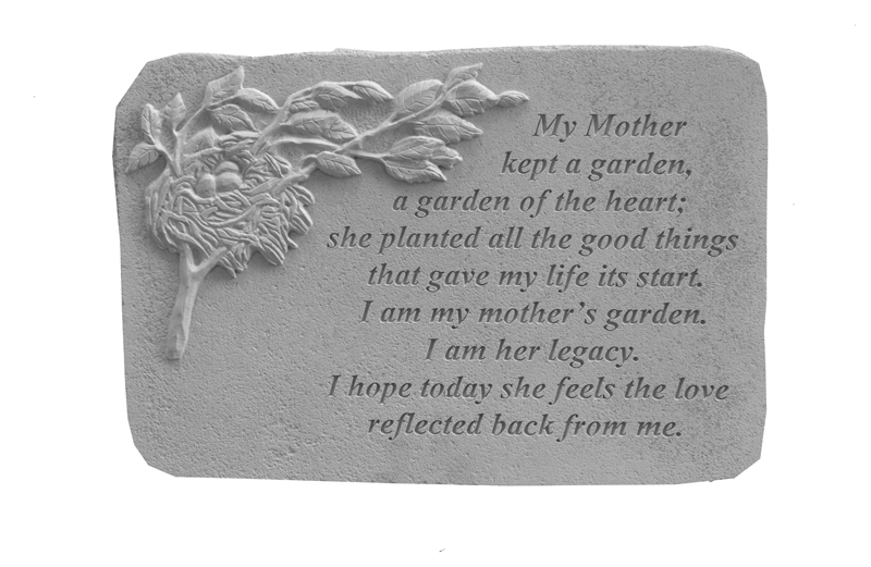 Loss Of Mother Memorial Stone