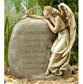 Beau Memorial Angel   In Loving Memory