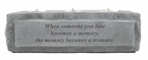 Memorial Candle Holder - When Someone You Love