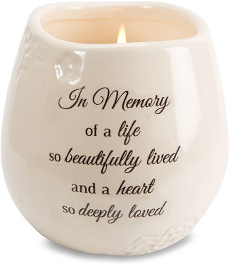 Memorial Candle - In Memory Of A Life