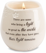 Memorial Candle - There Are Some Who Bring A Light