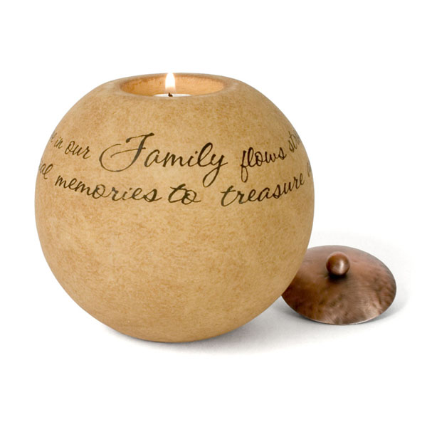 Memorial Family Candle Sympathy Gift