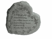 Memorial Gift Stone - A Heart Of Gold