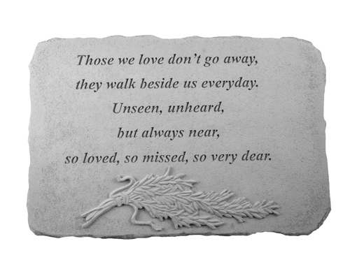 Memorial Gift Stone - Those We Love