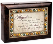 Musical Memorial Keepsake Box - Engravable