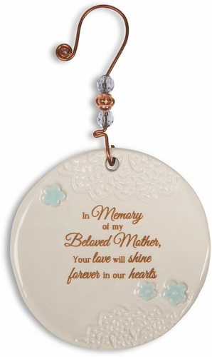 Memorial Ornament - Loss of Mother