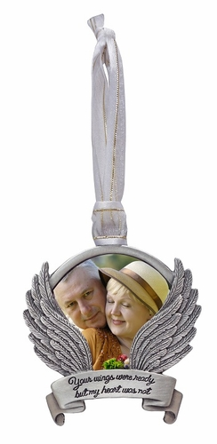 Memorial Ornament - Your Wings Were Ready