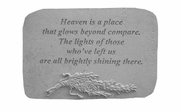 Memorial Stone - Heaven Is A Place...