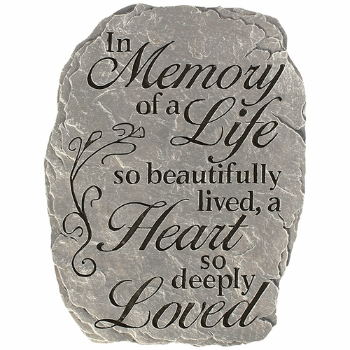 Memorial Stone - Life So Beautifully Lived