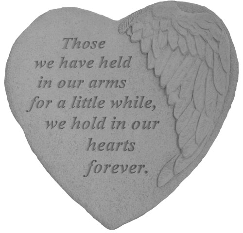Memorial Stone - Those We Have Held In Our Arms