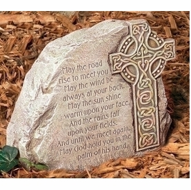 Memorial Stone with Celtic Cross